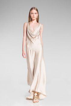 Bias cut dress