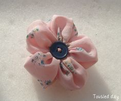 Fabric Flower with Petals
