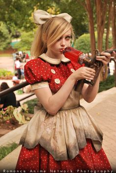 Little sister from Bioshock cosplay