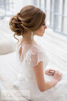 Свадебные прически и макияж Москва