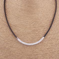 NIBA Femmes BIJOUX Vente Chaude en acier inoxydable En Cuir Charme Collier Nouvelle Mode Style Élégant Cristal de Charme de Foulard Colliers