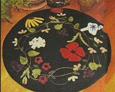 Multi-Flowered Table Mat