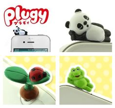 Pimp your smartphone with Panda Plugy :D