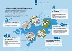 Minister Grapperhaus verdeelt 100 miljoen voor aanpak ondermijnende criminaliteit   Nieuwsbericht   Rijksoverheid.nl Infographics, Map, School, Infographic, Location Map, Maps, Info Graphics, Visual Schedules