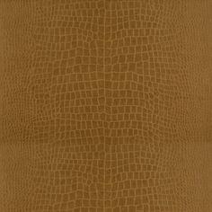 Yacare Crocodile - Saddle - Serengeti Textures - Wallcovering - Products - Ralph Lauren Home - RalphLaurenHome.com