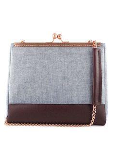 Le sac à main Colvert est une pièce unique assemblée artisanalement par  Geoffrey. Il est 914e4814f55d6