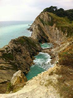 Jurrasic Coast at Lulworth - Dorset, England