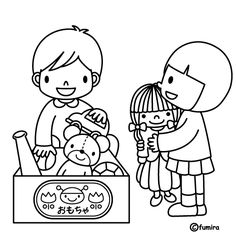Picking up toys, free coloring pages Kindergarten, Preschool Colors, Coloring Sheets For Kids, Bible Coloring Pages, Art Drawings For Kids, Class Decoration, Working With Children, Teaching Art, Bird Art