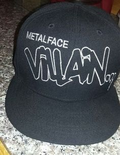 super popular 3da92 6291a For Sale is a like new MF DOOM METAL FACE VILLAIN new era fitted hat size 7  Hat is in great shape and only wore once or twice. Hat is used and as ...