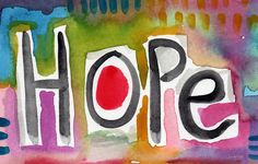 Hope- Colorful Abstract Painting Painting