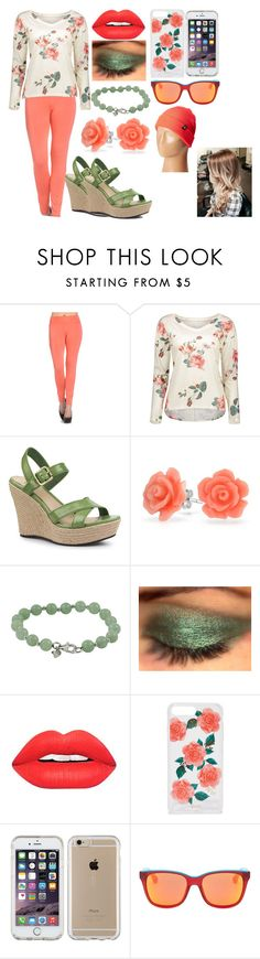 """""""Coral Floral"""" by kiara-fleming ❤ liked on Polyvore featuring Frumos, UGG, Bling Jewelry, Sonix, Speck, Marc by Marc Jacobs and Neff"""
