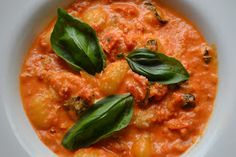 Spilt Milk and Humble Pie: Tomato and basil gnocchi
