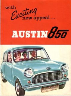 Austin 850 - sales brochure