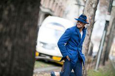 Mariano Di Vaio   at the Milan Fashion week - street style #mensfashion www.mdvstyle.com