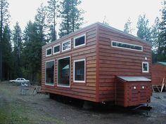 400 Sq. Ft. Tiny Urban Cabin - (tinyhousetalk)