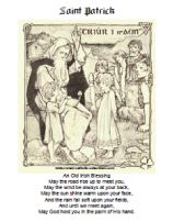st patrick and st martin of tours coloring page there are other saint patrick coloring pages here as well as a printable irish blessing poster a - St Patrick Coloring Page Catholic