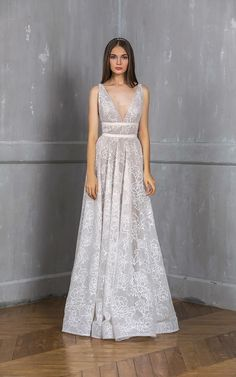 Bronx And Banco Bronx & Banco Emily exclusive embellished bridal gown