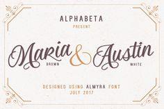 Almyra Script by Alphabeta on @creativemarket