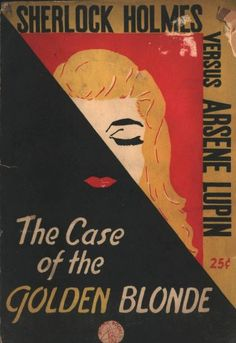 The Case Of Golden Blonde Vintage Book Covers Books
