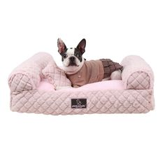 Arctic Sofa Bed in Indian Pink- Beds, Blankets, Furniture - Pinkaholic Pillow Furniture Style Posh Puppy Boutique Designer Dog Beds, Designer Dog Clothes, Pink Dog Beds, Seattle Dog, Dog House Bed, Dog Sofa Bed, Puppy Beds, Love Couture, Dog Boutique
