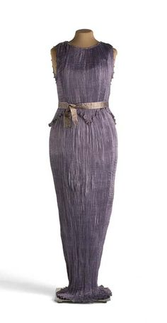 Delphos by Fortuny - a Fortuny Delphos gown would be my pinnacle of collecting success!  The secret of making the permanent pleats has been lost, although designer mary mcFadden came close.  These beautiful gowns were twisted and rolled up into tiny custom silk bags!