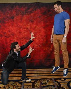 This is AWESOME!! RT @chrisschmelke: It's confirmed.. Rob is actually a superhero in disguise.. #sfcon