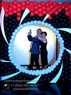 Фоторамка для вечеринки в стиле агента 007