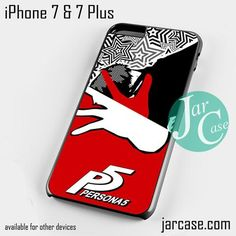 Persona 5 Game (6) Phone case for iPhone 7 and 7 Plus