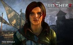 Image result for witcher 2 triss wallpaper