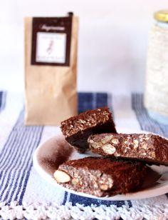 raw cacao energy bars