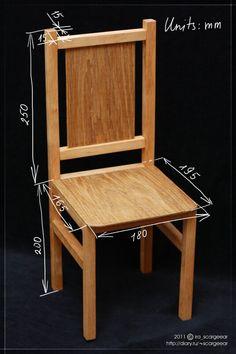 Как сделать стульчик из фанеры своими руками