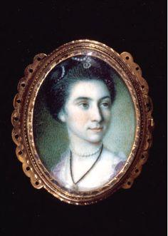 Martha Parke Custis (1756-1773) daughter of Martha Washington and stepdaughter of George Washington