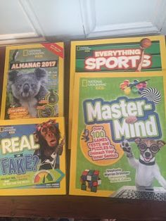 Reviewed By Mom: National Geographic Kids Review & Prize Pack Giveaway!