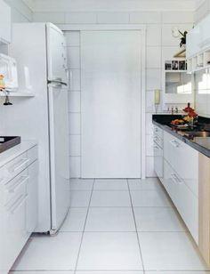 Cozinha clean e funcional