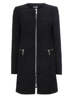 DUFFLE COAT WITH FUR-LINED HOOD | Hair | Pinterest | Duffle coat ...