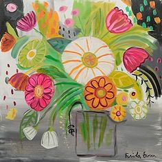 Thank you again @minted #mintedcommunity #mintedwestelmchallenge for selecting this painting as another winner for the westelm challenge. #floralpainting #acrylicpainting #faridazaman #faridazamanillustration #makeartthatsells