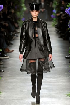Givenchy | Fall 2011 Ready-to-Wear Collection | Natasha Poly Modeling | Style.com