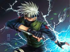 Naruto Uzumaki's first sensei and the leader of Team 7 is Kakashi Hatake. He plays a significant role in both Naruto and Naruto Shippuden arcs. Kakashi is one of the most talented ninja to ever reside in the Hidden Leaf. Naruto Kakashi, Anime Naruto, Naruto Shippuden Hd, Sharingan Kakashi, Anime Ninja, 5 Anime, Free Anime, Konoha Naruto, Sasuke Akatsuki