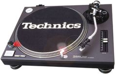 The Technics SL-1200 and 1210 series turntables. First produced in 1972 these are famous the world over. At the London Science Museum a SL-1210 is on display as one of the pieces of technology that have shaped the world we live in.