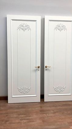 """Elegant model """"Madrid"""", painted with enamel. These doors have already gone to Kazakhstan and will soon decorate the interior of their new owner. The cost - from 1 886 $/item. The basic set includes: door leaf (2000*800 mm), door frame, platbands and heels on both sides."""