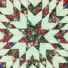 Sew Easy Quilts Star of Bethlehem Quilt via Craftsy