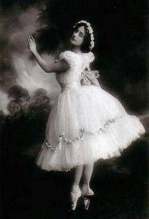 Anna Pavlova~Russian Prima Ballerina, Circa 1900.
