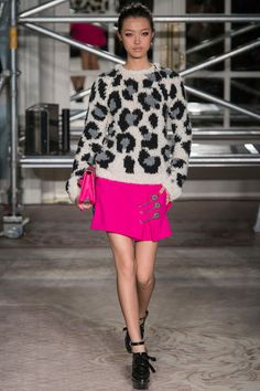 Moschino Cheap And Chic Fall 2013