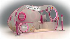 Sweet Slim booth 2 25 Innovative 3D Exhibition Designs, Display Stands & Booth Collection