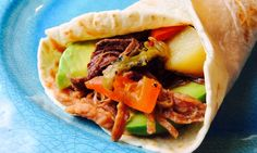 Food Fitness by Paige: Hatch Chili Beef Burrito