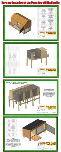 Rabbit Hutch Plans Online