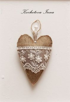 Kochetova Inna - Rustic heart with pearls
