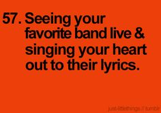 Concerts <3