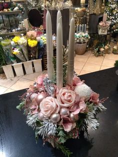 Advent, Floral Wreath, Wreaths, Table Decorations, Furniture, Home Decor, Floral Crown, Decoration Home, Door Wreaths