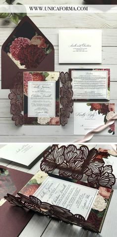 Navy and Marsala Wedding invitation. Floral gaudy wedding invitation. Navy and blush wedding. Navy and red wedding invitations. Marsala bridesmaids. Merlot and navy wedding. Navy marsala and gold wedding. Hand calligraphy invitations. Black tie wedding. Invitations by Unica Forma Navy and merlot wedding. Navy floral wedding. Marsala wedding cake.